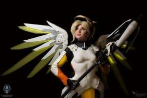 Mercy overwatch shappy cosplay