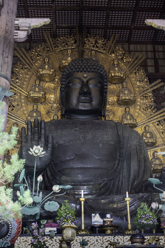 Bouddha géant de Nara au Japon