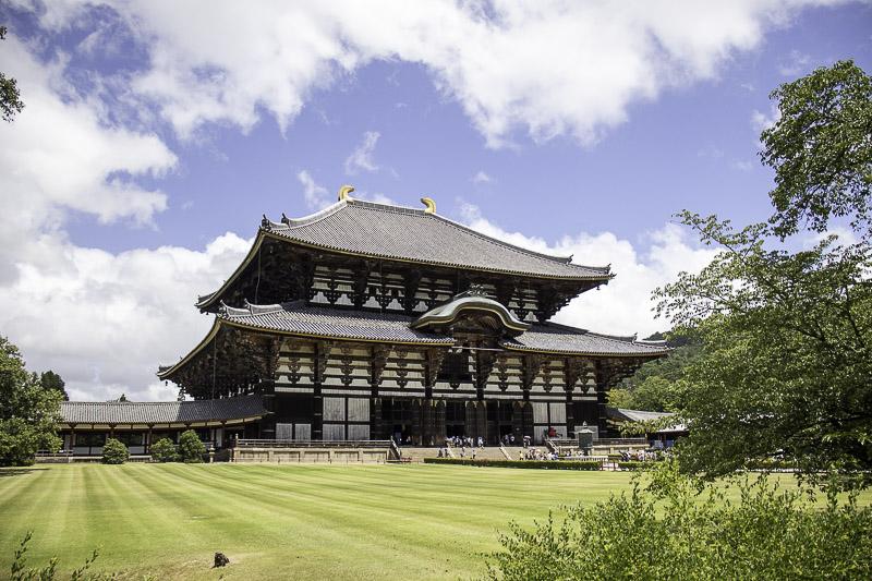 le chateau Todai-ji à Nara